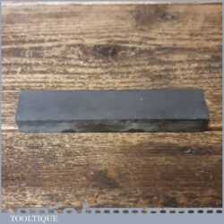 "Vintage 5"" x 1"" Natural Welsh Slate Fine Grade Honing Stone - Lapped Flat"