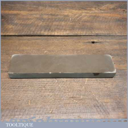 "Vintage 8"" x 2"" Natural Turkey Honing Oilstone - Good Condition"