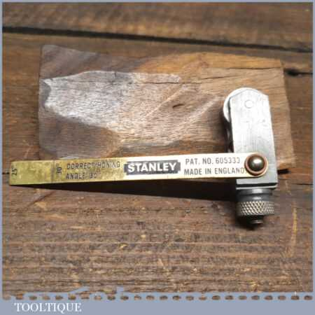 Vintage Stanley Honing Guide For Plane Irons - Good Condition