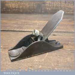 "Antique Small 4 ¾"" Thumb Plane - Fully Refurbished Ready To Use"