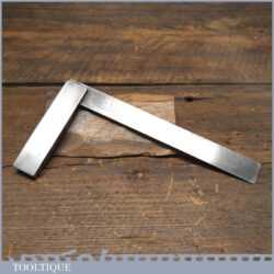 """Vintage Engineers 6"""" Steel Square In Good Condition"""