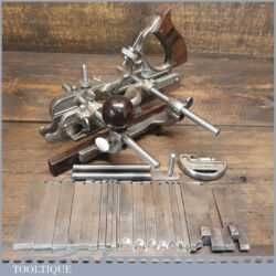 Vintage Stanley Rule & Level Co. USA No: 45 Combination Plough Plane - Pat 1901