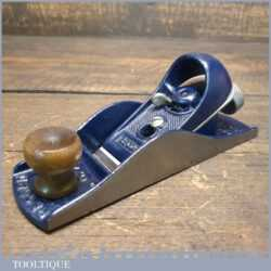Vintage Record No: 0220 Adjustable Block Plane - Fully Refurbished Ready To Use