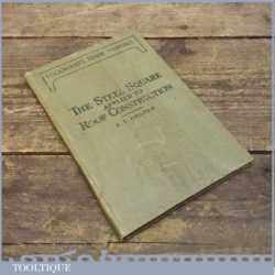 Vintage Carpenters And Joiners Trade Manual By J. T. Draper