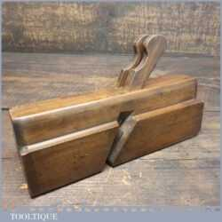 Scarce antique T Clough 1828 Twin Ironed Complex Beechwood Plane - Good Condition