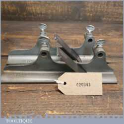 Scarce Vintage No: 12H & 12R Hollow & Round Pair Record No: 405 Multi Plane Special Base Guides
