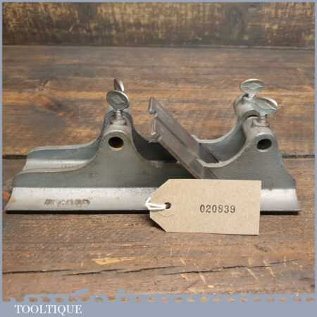 Vintage Record No: 405 Multi Plane No: 10H & 10R Hollow & Round Pair Special Base Guides