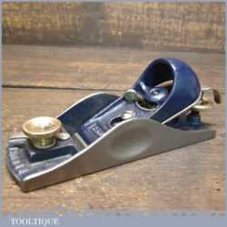 Vintage Record No: 09 ½ Low Angle Adjustable Throat Block Plane - Fully Refurbished