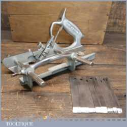 Vintage Pemuvar P44 Plough Plane Complete - Fully Refurbished Ready To Use
