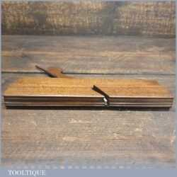 Antique 18th Century Square Ovolo Beechwood Moulding Plane - Good Condition