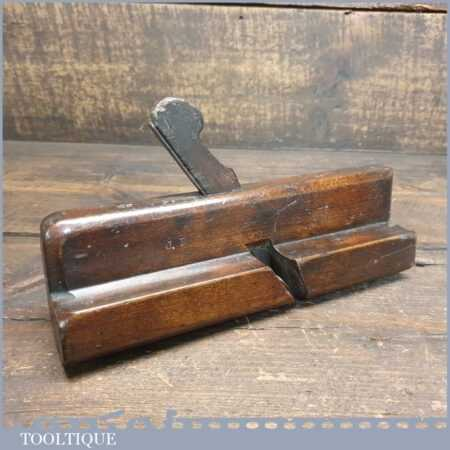 Antique Mutter*Moseley C 1782-1812 Scotia Beechwood Moulding Plane