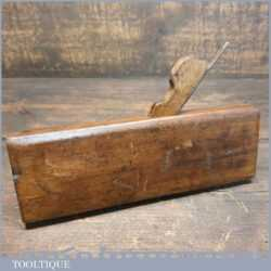 Vintage A. Mathieson & Son Square Ovolo Beechwood Moulding Plane