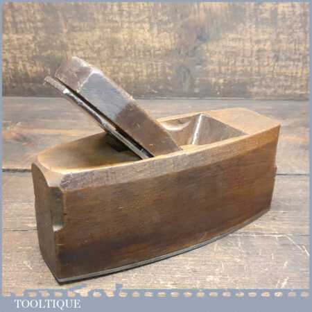 "Vintage Marples Carpenter's 8"" Beech Smoothing Block Plane - Good Condition"