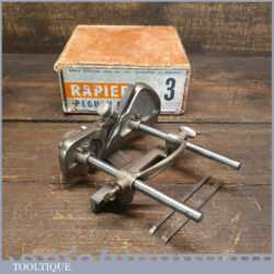 Vintage Boxed Rapier No: 3 Plough Plane - Fully Refurbished Ready To Use
