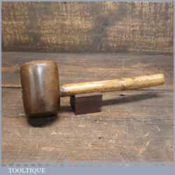 Vintage Stone Masons Composite Mallet Bamboo Handle - Good Condition