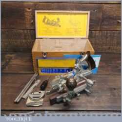 Vintage Boxed Record No: 405 Combination Plough Plane - Good Condition