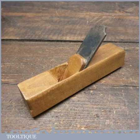 Vintage Pattern Maker's Beechwood Hollowing Plane - Good Condition