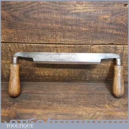 """Vintage Brades Carpenter's Drawknife With 8 ½"""" Cutting Edge - Sharpened Honed"""