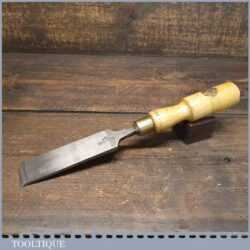 "Vintage W. Marples & Sons Carpenter's 1 ½"" Firmer Chisel - Sharpened & Honed"
