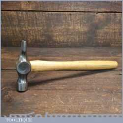 Vintage Cross Pein Hammer With Wooden Handle - Good Condition