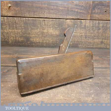 """Antique Griffiths Norwich 3/8"""" Ogee Beechwood Moulding Plane - Good Condition"""