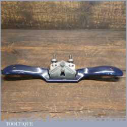 Vintage Record No: 0151 Adjustable Flat Soled Metal Spokeshave - Fully Refurbished