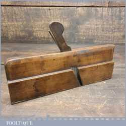 Antique Griffiths Norwich Cock Bead Beechwood Moulding Plane - Good Condition