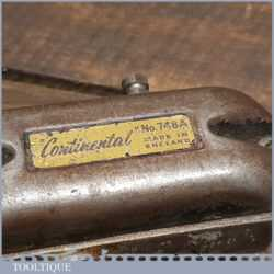 Vintage Stanley Continental No: 748A Breast Drill - Good Condition