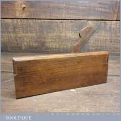 """Antique Atkin & Sons 1/8"""" Beading Beechwood Moulding Plane - Good Condition"""