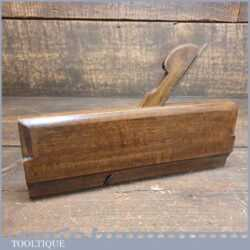 Antique Varvill & Sons Side Round Beechwood Moulding Plane - Good Condition