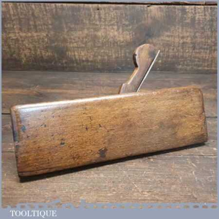 Antique Moseley Late Mutter C Early 1800's Sash Ovolo Beechwood Moulding Plane