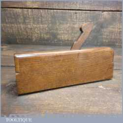 "Antique Sims of London (1817-1829) 7/8"" Astragal Beechwood Moulding Plane"