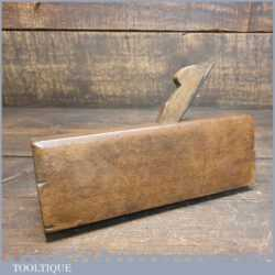 Antique John Moseley & Son No: 5 Grecian Ogee Beechwood Moulding Plane
