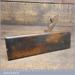 Antique 18th Century I. Sym (1753-1802) Square Ovolo Beechwood Moulding Plane