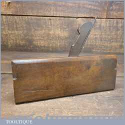 Antique Griffiths Norwich No: 4/4 Common Ogee Beechwood Moulding Plane