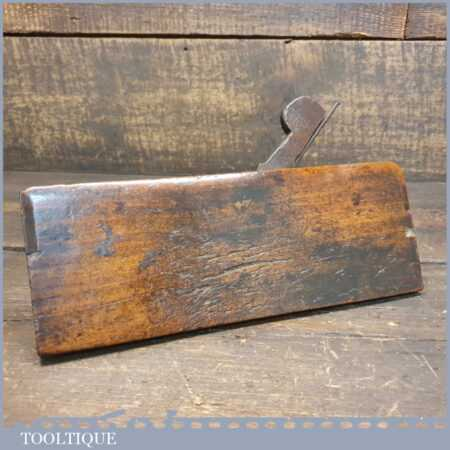 Antique Atkin & Sons 7/32 Tongue Beechwood Moulding Plane