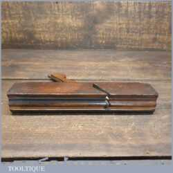 Antique Higgs (1780-1827) No: 4 Common Ogee Beechwood Moulding Plane