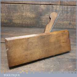 Antique R. Routledge Cove Astragal Beechwood Moulding Plane - Good Condition