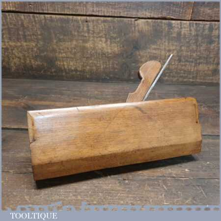Unusual Shaped Antique Beechwood Moulding Plane - Good Condition