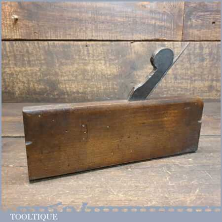 Antique Leist of Norwich (1845-1896) Common Ogee Beechwood Moulding Plane