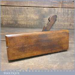 Antique Moseley & Sons (1838-1861) Lambs Tongue Sash Beechwood Moulding Plane