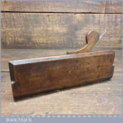 Antique 18th Century Madox (1748-1775) Rounding Beechwood Moulding Plane