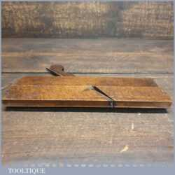 Antique 18th Century No: 6 Hollow Beechwood Moulding Plane - Good Condition