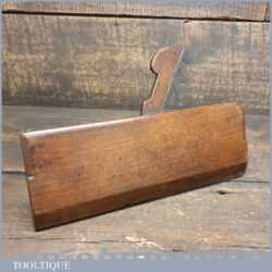 Antique 18th Century Higgs No: 7 Hollow Beechwood Moulding Plane