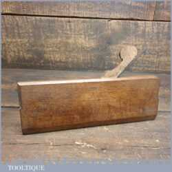 Antique 18th Century Thomas Okines (1740-1834) No: 2 Hollow Beechwood Moulding Plane