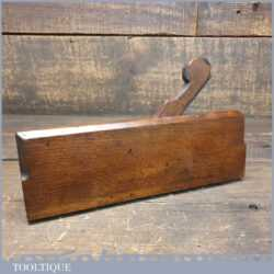 Antique 18th C Thomas Okines (1740-1770) Okins Complex Beechwood Moulding Plane