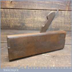 """Antique Griffiths of Norwich 3/8"""" Common Ogee Beechwood Moulding Plane"""
