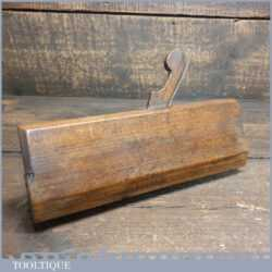 Uncommon Antique 18th Century B. Bown No: 15 Round Beechwood Moulding Plane