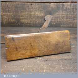 """Antique Griffiths of Norwich ¾"""" Side Bead Beechwood Moulding Plane"""