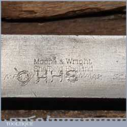 Vintage Moore & Wright Engineer's Precision Set Square - Good Condition